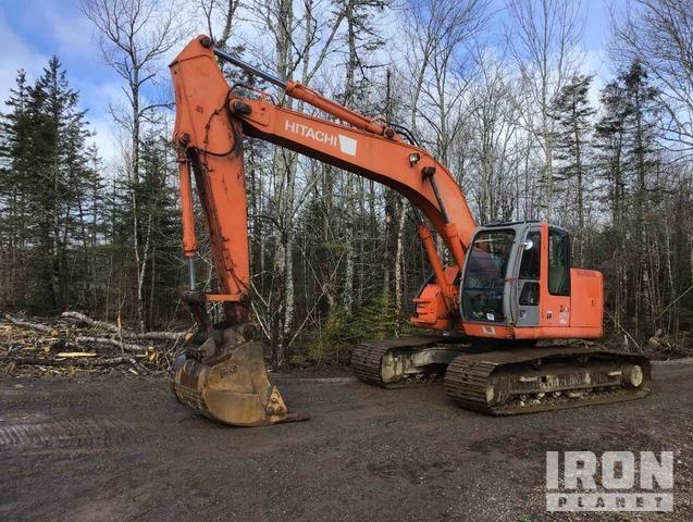 2007 Hitachi ZX225USLC Track Excavator, Hydraulic Excavator