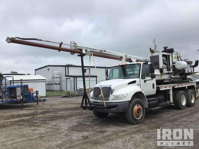 Texoma 500 Drill on 2008 International 4400 T/A Truck, Drill Truck