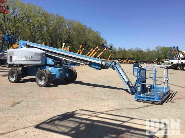 2008 Genie S-65 4WD Diesel Telescopic Boom Lift, Boom Lift