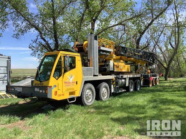 2015 Grove TMS990E Hydraulic Truck Crane W/ Dolly, Hydraulic Truck Crane