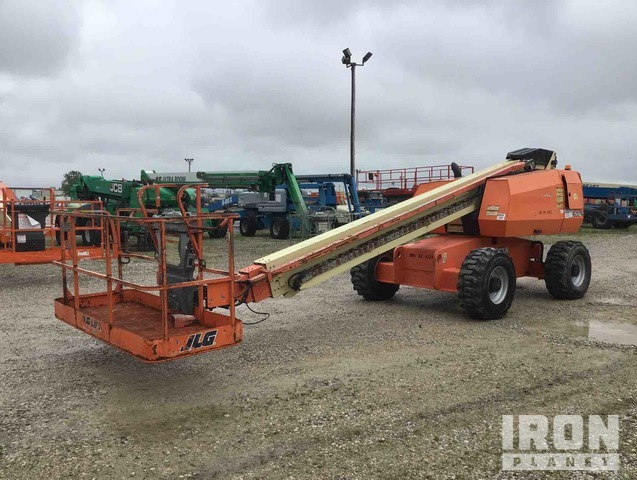 JLG 600S 4WD Diesel Telescopic Boom Lift - Factory Reconditioned 2013, Boom Lift