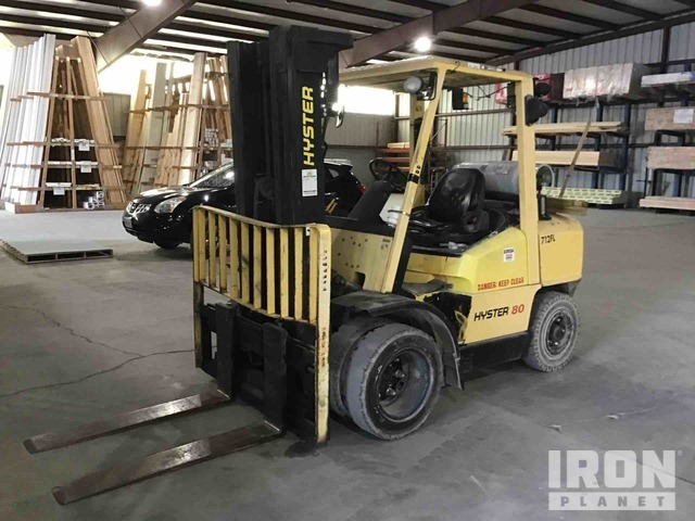Hyster H80XM Pneumatic Tire Forklift, Parts/Stationary Construction-Other