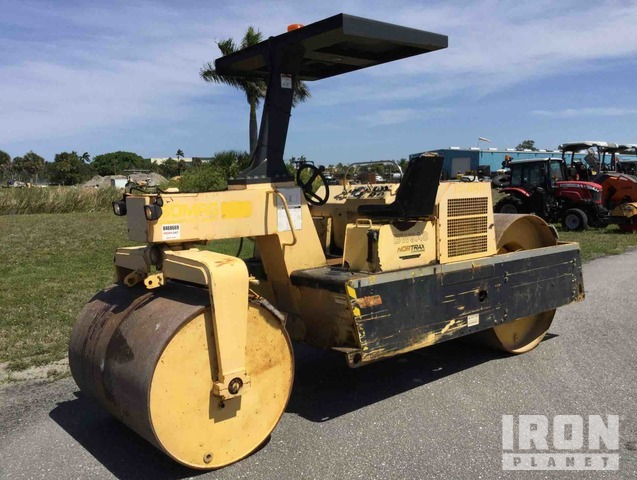 2009 Bomag BW 9 AS Double Drum Roller, Tandem Roller