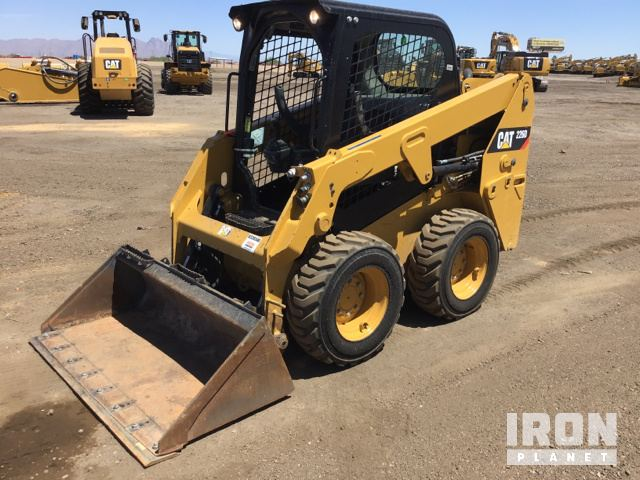 2017 Cat 226D Skid Steer Loader, Skid Steer Loader