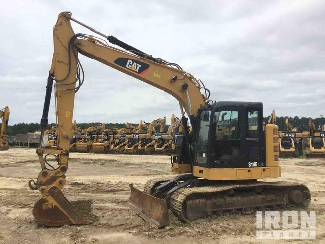 2014 Cat 314E LCR Track Excavator, Hydraulic Excavator