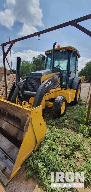 2008 (unverified) John Deere 310J 4x4 Backhoe Loader, Loader Backhoe