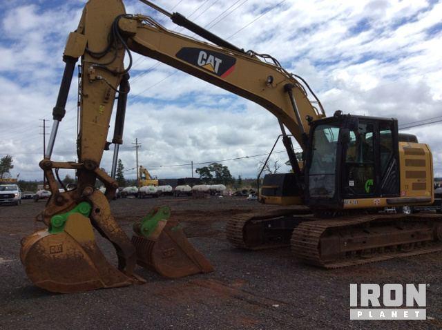 2015 Cat 320ELRR Track Excavator, Hydraulic Excavator