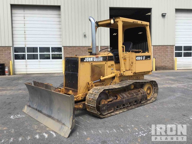 John Deere 450G LT Crawler Dozer, Crawler Tractor