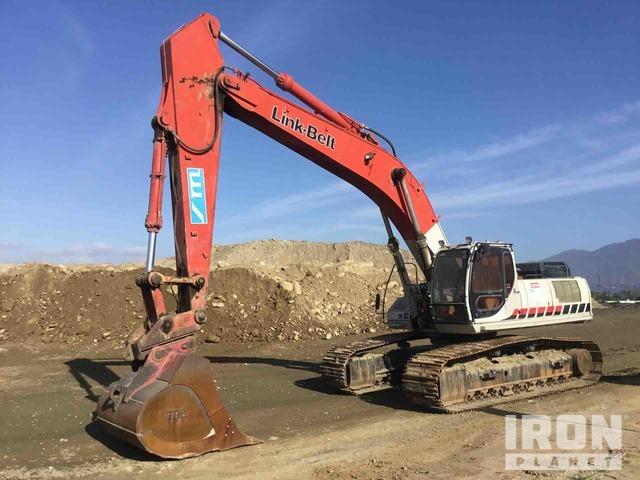 2007 Link-Belt 460LX Track Excavator, Hydraulic Excavator