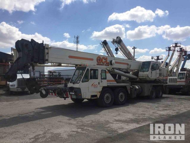 2002 Terex T750 75 Ton Hydraulic Truck Crane, Hydraulic Truck Crane