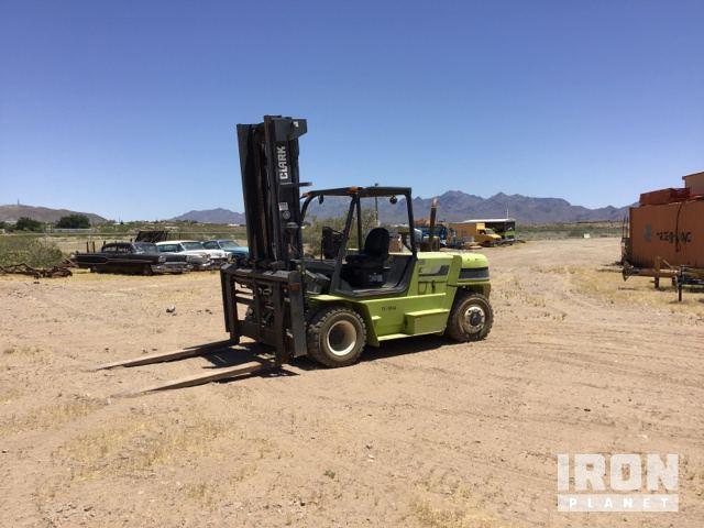 2013 (unverified) Clark C80D Rough Terrain Forklift, Rough Terrain Forklift