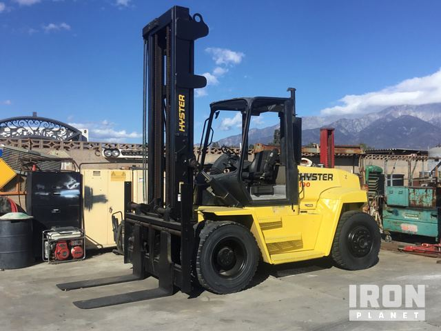Hyster H190HD Pneumatic Tire Forklift, Parts/Stationary Construction-Other