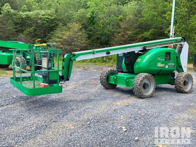 2012 JLG 600A 4WD Diesel Articulating Boom Lift, Boom Lift