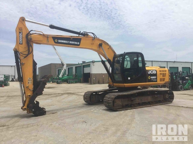2014 (unverified) JCB JS220LC Track Excavator, Hydraulic Excavator