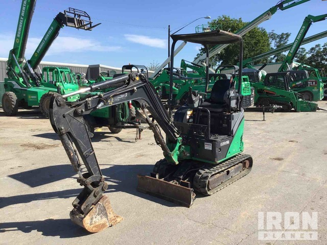 2014 (unverified) John Deere 17D Mini Excavator, Mini Excavator (1 - 4.9 Tons)