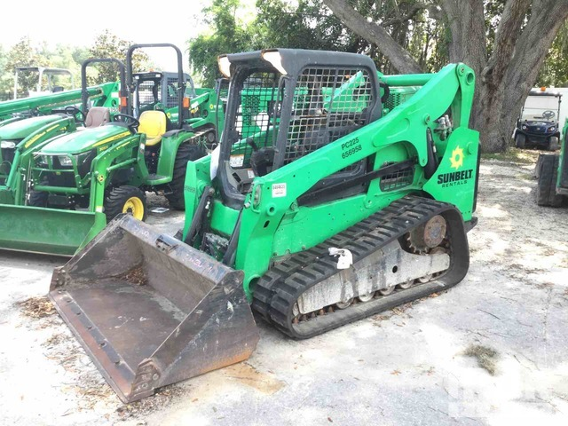 2014 Bobcat T750 Two-Speed Compact Track Loader, Compact Track Loader