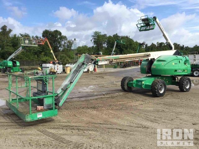 2012 JLG 460SJ 4WD Diesel Telescopic Boom Lift, Boom Lift