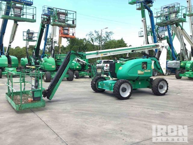 2011 (unverified) JLG 600AJ 4WD Diesel Articulating Boom Lift, Boom Lift