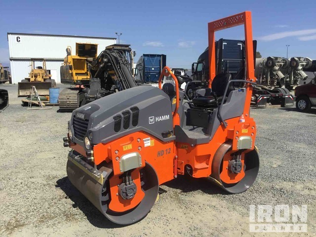 2020 Hamm HD12VV Vibratory Double Drum Roller - Unused, Tandem Roller