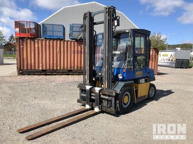 1999 Kalmar DCD40-5 Pneumatic Tire Forklift, Forklift