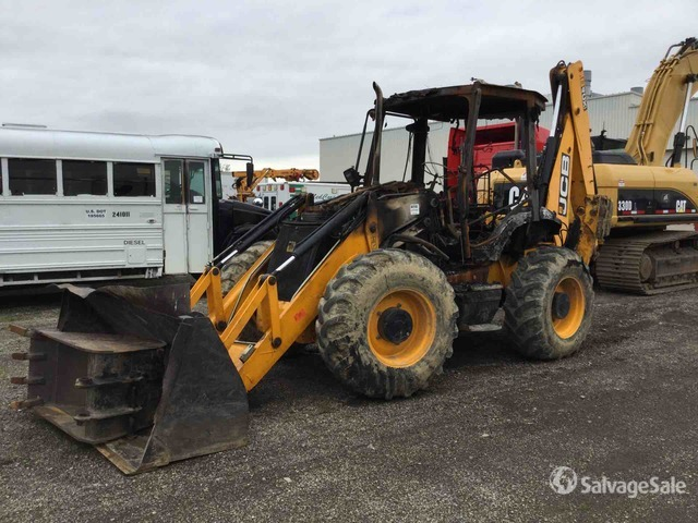 2014 (unverified) JCB 4CX14FT 4x4 Backhoe Loader, Parts/Stationary Construction-Other