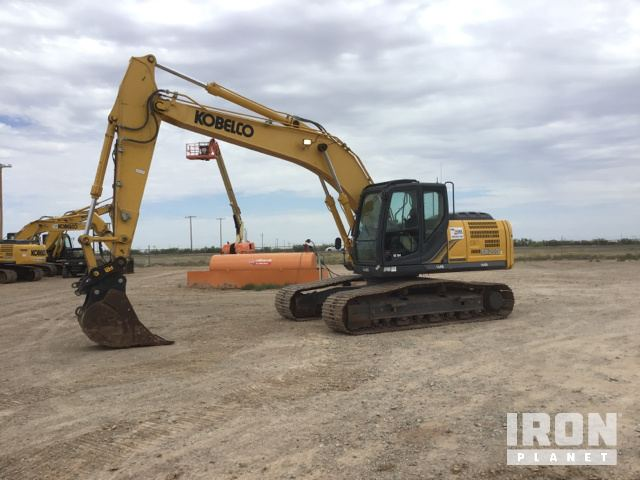 2017 Kobelco SK210LC-9 Track Excavator, Hydraulic Excavator