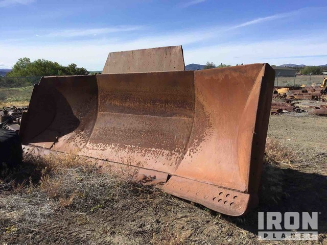 15' Dozer U-Blade - Fits Cat D9H, Crawler Tractor Dozer