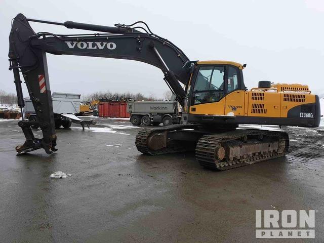 2008 Volvo EC360CL Track Excavator, Hydraulic Excavator