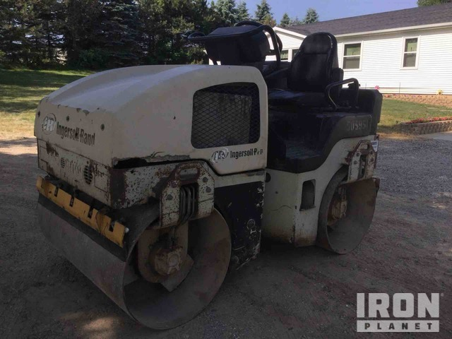 Ingersoll-Rand DD-24 Vibratory Double Drum Roller, Roller