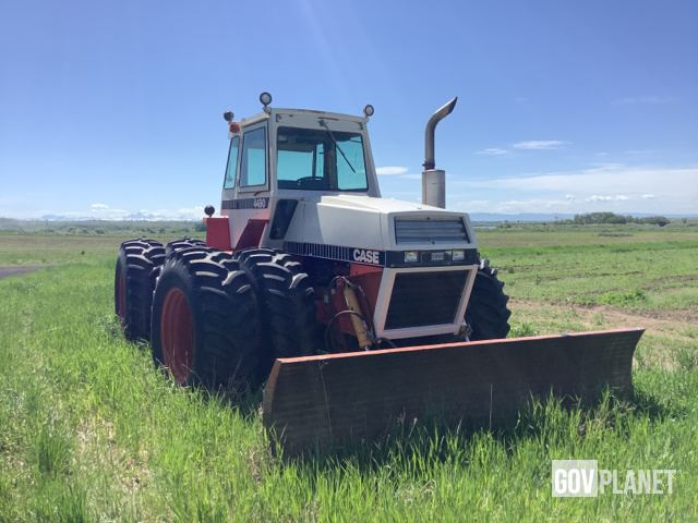 Case 4490 4WD Tractor, MFWD Tractor