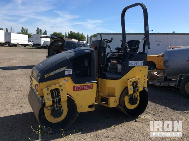 2015 Bomag BW120SL-5 Vibratory Double Drum Roller, Tandem Roller