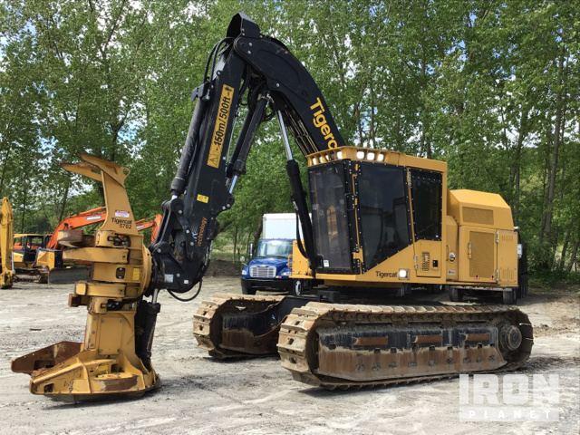2019 Tiger Cat 845E Track Feller Buncher, Feller Buncher
