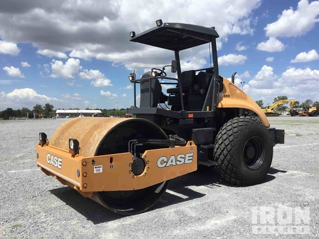 2018 (unverified) Case 1107 EX-D Vibratory Single Drum Compactor - Unused, Vibratory Padfoot Compactor