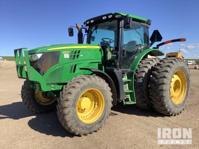 2013 John Deere 6140R 4WD Tractor, MFWD Tractor