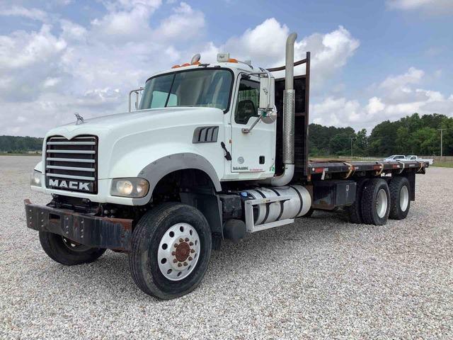 2011 Mack GU713 6x6 Flatbed Dump Truck