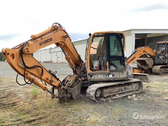 2016 (unverified) Hyundai Robex 80CR-9 Track Excavator: <70t, Hydraulic Excavator