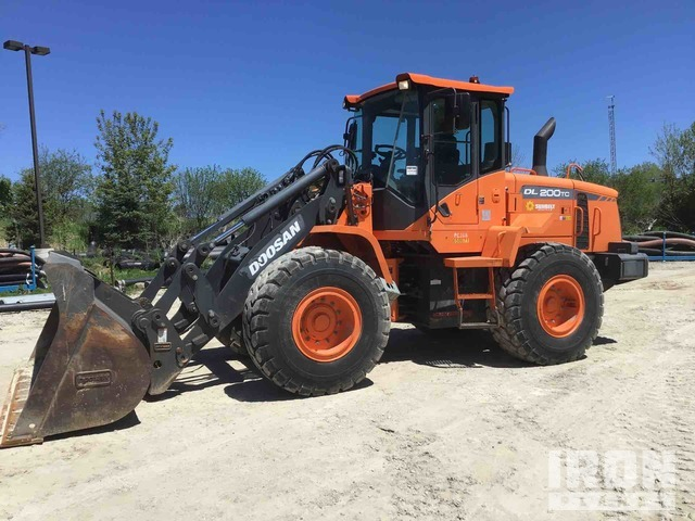 2014 Doosan DL200TC-3 Wheel Loader, Wheel Loader