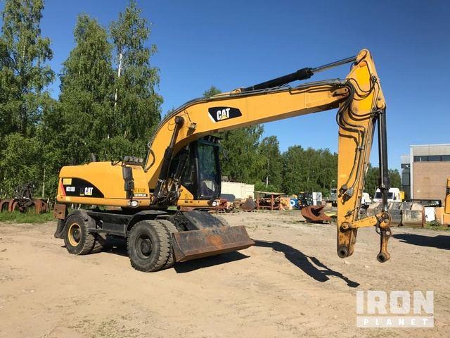 2008 Cat M318D Wheel Excavator, Mobile Excavator