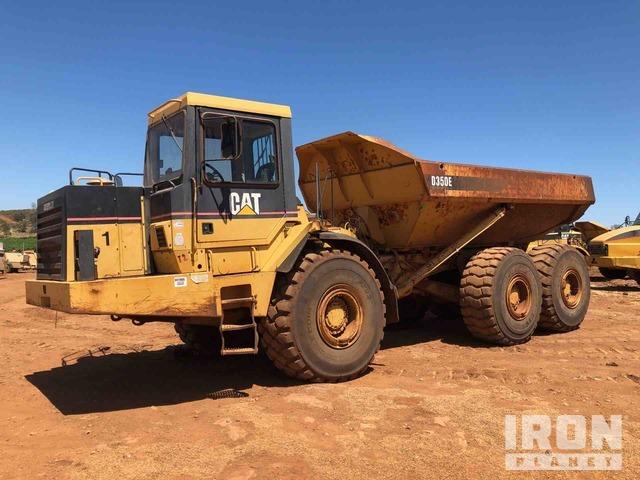 Cat D350E D350E Articulated Dump Truck, Articulated Dump Truck