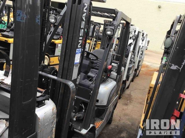 2013 (unverified) Nissan CF50 Cushion Tire Forklift, Forklift
