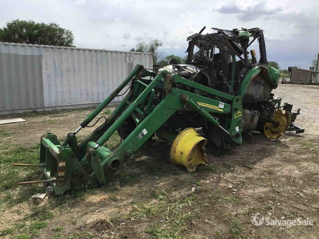 2009 (unverified) John Deere 7230 4WD Tractor, MFWD Tractor