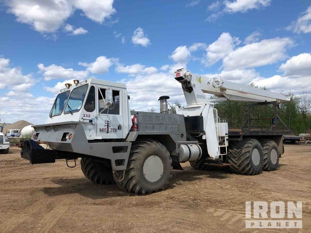 1998 Foremost Delta 3C 25 Ton Articulated Hydraulic Truck Crane, Hydraulic Truck Crane
