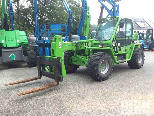 2018 Merlo P72.10 Telehandler, Telescopic Forklift