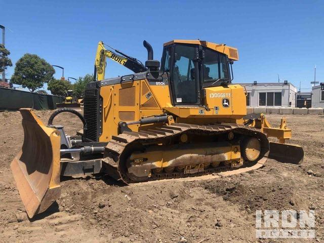 2017 John Deere 850K WLT Crawler Dozer, Crawler Tractor