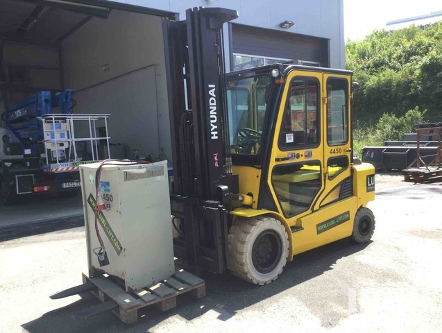 2013 Hyundai 50B-7 Electric Forklift, Electric Forklift