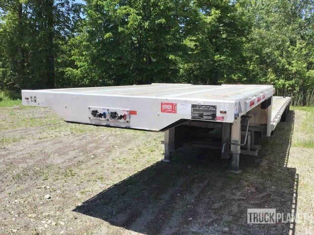 2020 Transcraft  100000 lb Tri/A Single Drop Deck Trailer, Low Loader