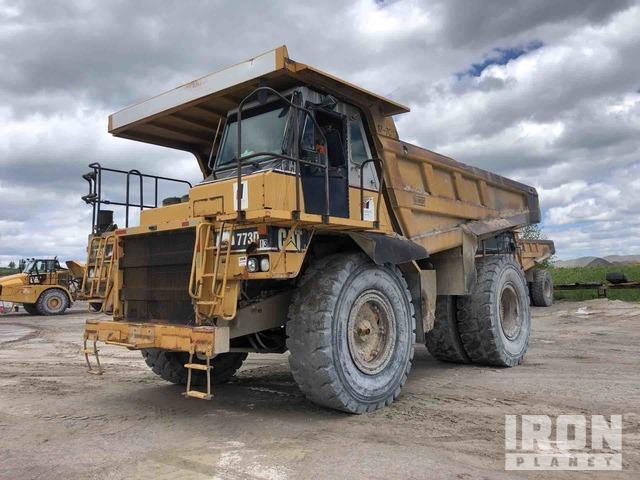 1999 Cat 773D Off-Road End Dump Truck, Rock Truck