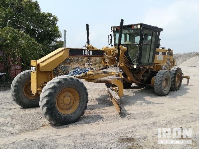2000 Cat 140H Motor Grader, Motor Grader