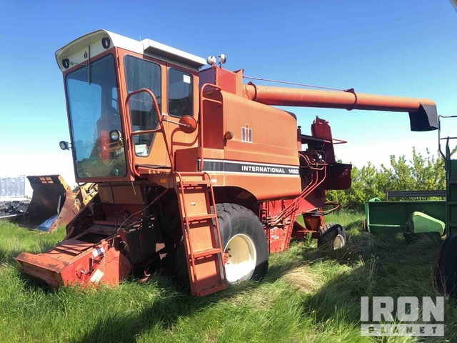 International Harvester 1460 Combine, Parts/Stationary Construction-Other