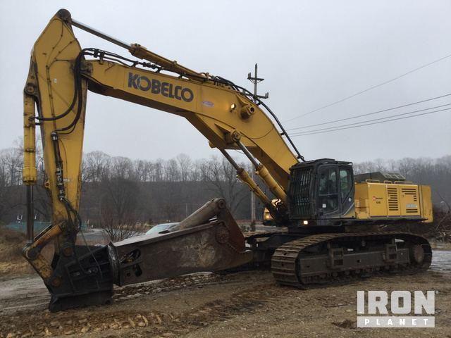 2015 Kobelco SK850LC-9 Track Excavator, Hydraulic Excavator